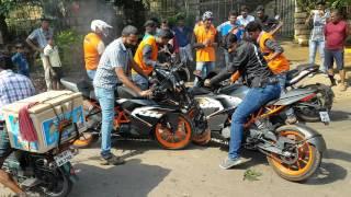 KTM Orange Ride in  sirumalai Dindigul