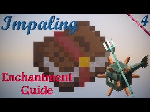 Minecraft - Impaling Enchantment - YouTube