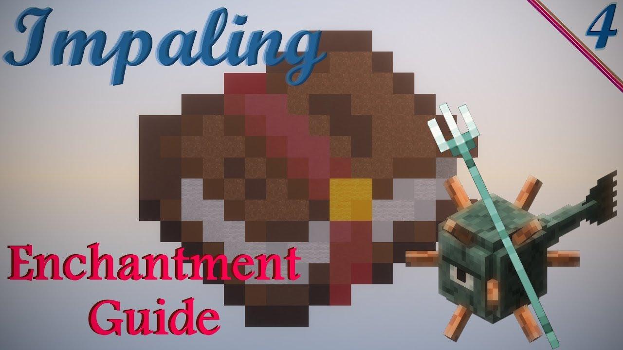 Minecraft - Impaling Enchantment