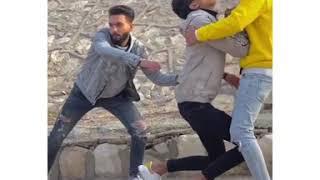 ميزكلى شريف خالد و عمر بازوكا فى فكره فديو جديده فديو مؤثر جدآ اغنيه اشوفكوا بخير وسامحونى