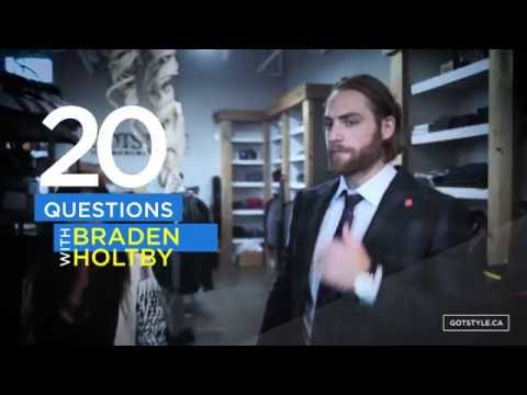 20 Questions with Braden Holtby