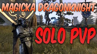 ESO PvP | Magicka Dragonknight 1vX (New Build)