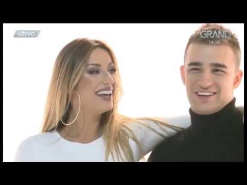Rada Manojlovic & Haris Berkovic - Intervju - Grand News - (TV Grand 17.11.2016.)