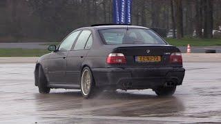 Modified BMW M5 E39 DRIFTING!!
