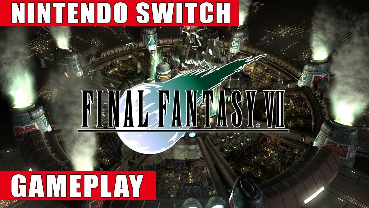 Final Fantasy VII Nintendo Switch Gameplay
