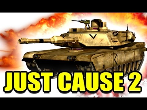 DRIVING TANKS! - Just Cause 2 - YouTube