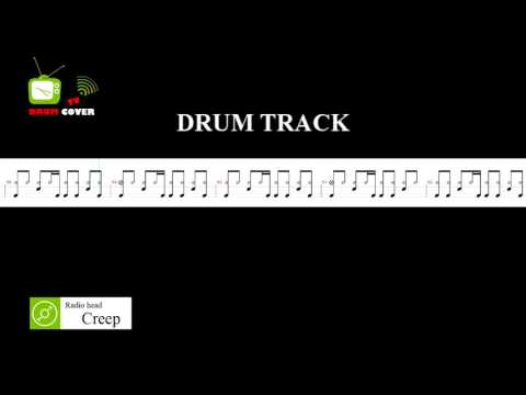 Creep (Drum Track) | Radio head | Drum Sheet | DRUM COVER TV