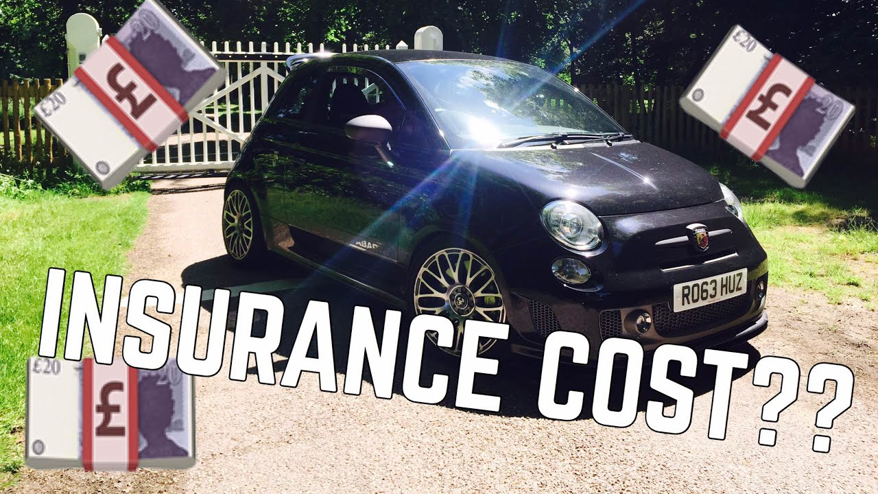 How Much Did Modified Car Insurance Cost For My 250 BHP 500 Abarth ...