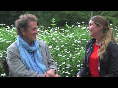 Monty Don Gardeners World BBC and now on OdlingsTV intervied by Jessica Lyon
