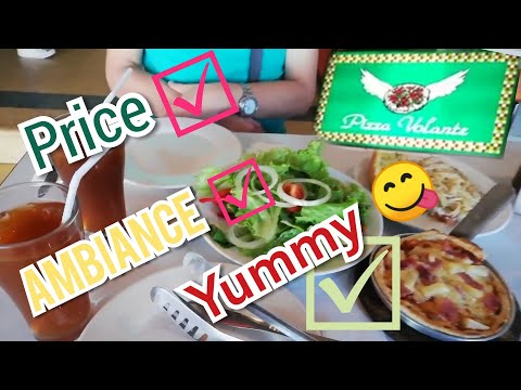 Where To Eat In Baguio City. Pizza Volante Along Session Road