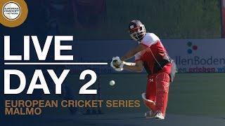 🔴 Live European Cricket Series Malmo, Sweden, Day 2   Cricket Live Stream