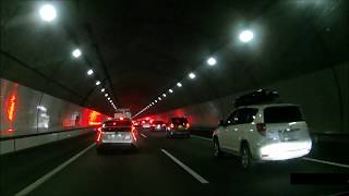 【渋滞・事故あり】[新名神高速道路]土山SA-[東海環状道路]東員IC【HD】