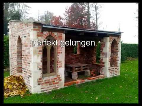 Sommerküche Mauern : Outdoor küche mauern outdoor kuche bauen