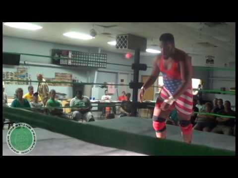 Otani Openweight Title: Joseph A'gau (c)  vs Timmy Lou Retton [Raising the Bar 8/26/16]