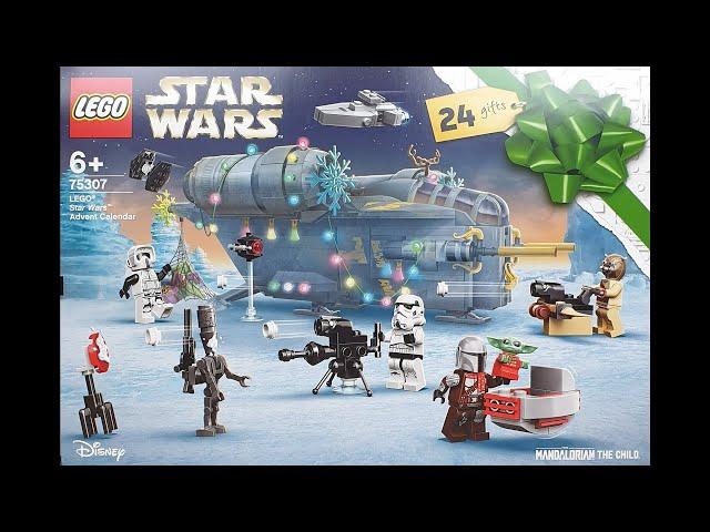 LEGO® Star Wars™ Adventskalender 2021 • Thema: Der Mandalorianer™ (75307)