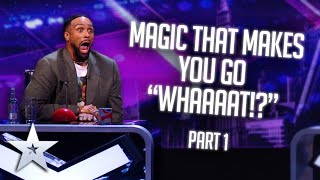 "MAGIC that makes you go ""WHAAAAT!?"" 