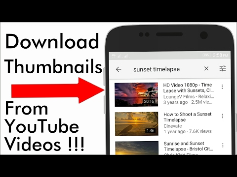 |Hindi| How To Download Thumbnails From YouTube |App Review #2|