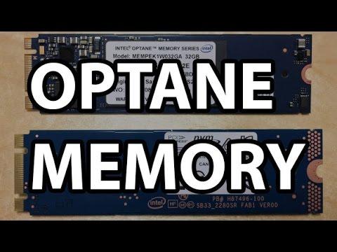 Intel Optane Memory 32GB Review - Faster Than Lightning