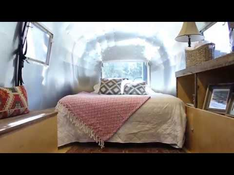 Renovated 1961 Airstream travel trailer