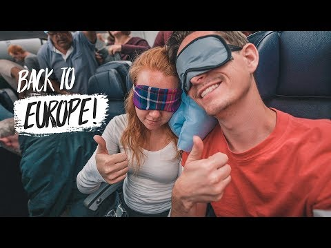 Overnight Flight to BELGIUM! + Travel Plans Update (Miami ✈️ Brussels)