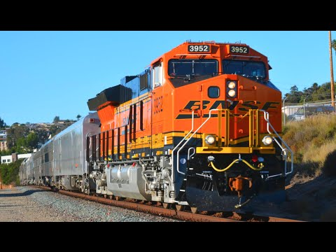 California Trains! 1 Hour, 150+ Trains!