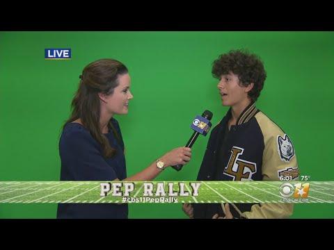 CBS 11 Pep Rally: Little Elm High School Audio/Video Club
