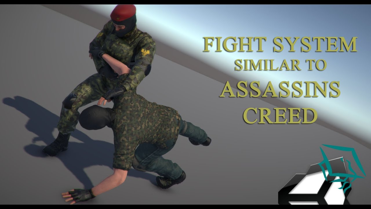 Unity 5 Tutorial Fight System Similar to Assassins Creed ...