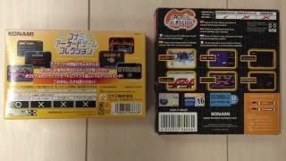 Konami Arcade Classics (GBA) Case by Case + Gyruss Gameplay