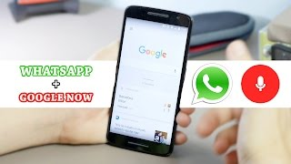 Cómo enviar Whatsapp a través de Google Now - Todotecno en Español 4K