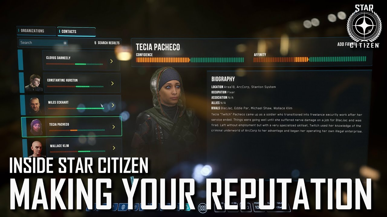 Inside Star Citizen: Making Your Reputation | Winter 2021