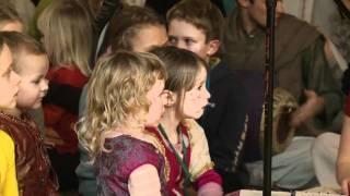 2011.01.15. Childrens Kirtan - Vaishnava Winter Festival - LITHUANIA