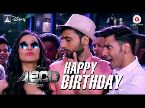Happy B'day  ABCD 2  Varun Dhawan -  Remix