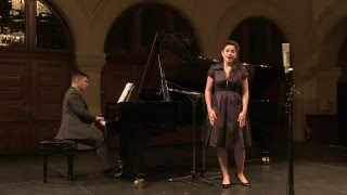 Miriam Khalil, Soprano - Richard Strauss -  Zueignung -  with Pianist Julien LeBlanc