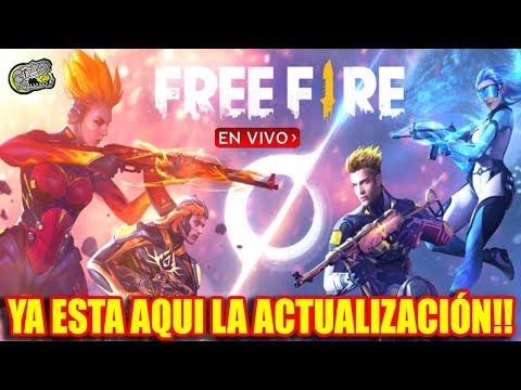 Esperando La Nueva Actualización Free Fire Nuevo Personaje