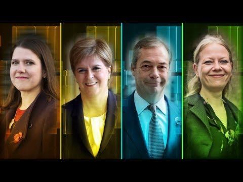 The ITV Election Interviews With Jo Swinson, Nicola Sturgeon, Nigel Farage And Sian Berry | ITV News