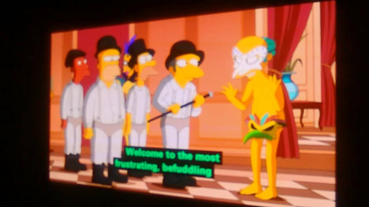 the simpsons halloween special 2 - youtube