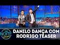 Danilo dança com cover do Michael Jackson | The Noite (24/09/18)