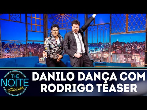 Danilo dança com cover do Michael Jackson | The Noite (24/09/18)