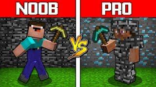 - Minecraft NOOB vs PRO BEDROCK BATTLE CHALLENGE in minecraft Animation