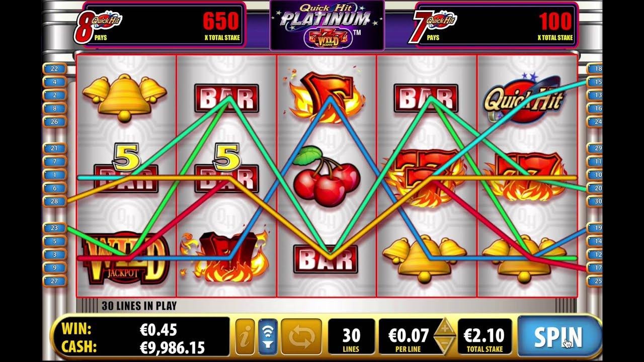 Quick Hits Platinum Slot Machine