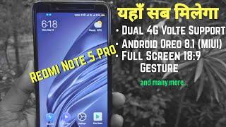Install Android Oreo 8.1 Based Miui Pro 8.5.10 in Redmi Note 5 Pro | Latest Custom Rom | Hindi