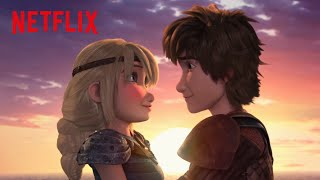 The Most Romantic ApoĮogy | Dragons: Race to the Edge | Netflix Futures