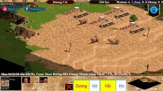 Trận 1 Aoe Solo Assyrian Dương Còi vs Hải Sẹo ngày 23-04-2018