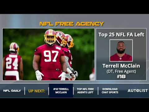 Top 25 NFL Free Agents Left Unsigned