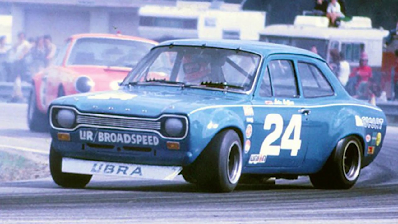 Video: John Fitzpatrick in the Ford Escort at Jarama 1971