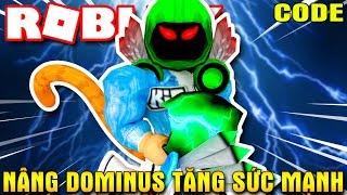 Roblox | SOLLEVARE il DOMINOS Santo cono al simulatore di sollevamento di potenza-Dominus | Rottura di Kia