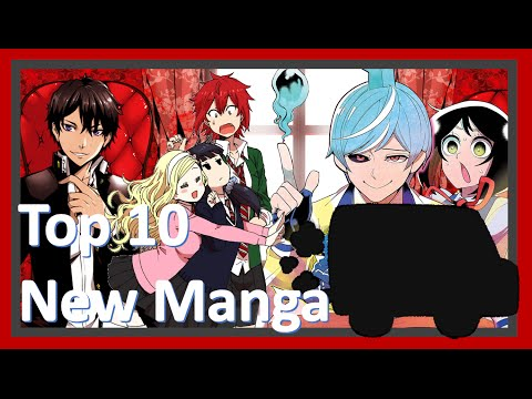Top 10 New Manga (as of Mid-2016)