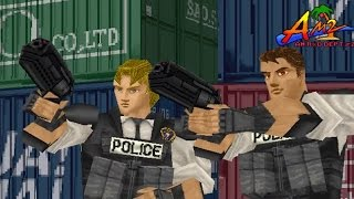 Virtua Cop (PC) Playthrough  - NintendoComplete
