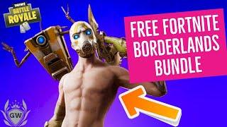 How to get the Fortnite Psycho Bundle for FREE! Free Fortnite Borderlands Bundle!