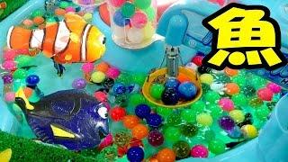 【UFOキャッチャー】魚すくい!大漁に取れすぎてワロタ! thumbnail